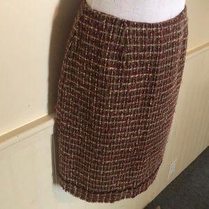 👗 B2G1 Andrea Viccaro skirt women's size 8 tweed